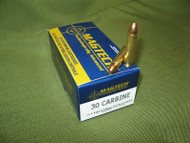 Surplus Ammo .30 Carbine 110 Grain FMC Magtech