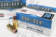9mm 115 Grain JHP +P CORBON Self Defense - 20 Rounds