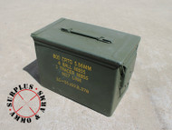 "Ammo Can .50 Caliber Fat Grade ""A"" Military Surplus, Lockable, Steel"