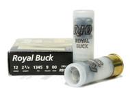 "Surplusammo.com | Surplus Ammo 12 Gauge Rio Royal 00 Buckshot 2 3/4"" Shotgun Shot Shell Ammunition RB129"