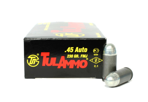 Surplus Ammo, Surplusammo.com 45 ACP 230 Grain FMJ TulAmmo Ammunition