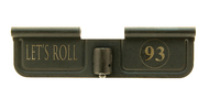 "Surplusammo.com | Surplus Ammo Spikes Tactical Engraved Dust Cover Door  ""Lets Roll / 93"" September 11, 2001, flight 93, Todd Beamer (SED7015)"