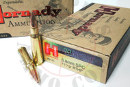 Surplus Ammo 6.8 SPC 110 Grain BT-HP Hornady Match