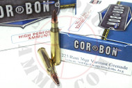 Surplus Ammo .223 36 Grain Varmint Grenade CORBON Self Defense