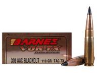 Surplus Ammo  300 AAC Blackout 110 Grain TTSX FB Barnes VOR-TX