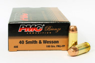 Surplus Ammo, Surplusammo.com 40 S&W 180 Grain FMJ PMC Bronze 40 Smith & Wesson