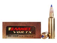 .300 WSM 165 Grain TSX Barnes VOR-TX - 20 Rounds