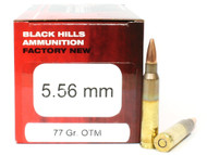 Surplus Ammo | Surplusammo.com 5.56 77 Grain Sierra OTM Black Hills - 50 Rounds NEW Red Box BHD556N9