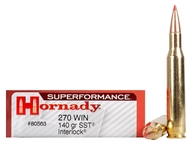 .270 Winchester 140 Grain SST InterLock Hornady SUPERFORMANCE - 20 Rounds