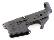 Surplusammo.com | Surplus Ammo SAA - SA-15 Reticle Logo AR15 Stripped Lower Receiver SAA-SA15RL