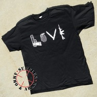 "Surplus Ammo & Arms ""LOVE"" Graphic T-Shirt"