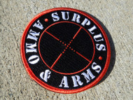 Surplus Ammo & Arms Velcro Patch