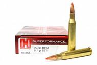 Surplus Ammo, Surplusammo.com .25-06 Rem 117 Grain SST InterLock Hornady SUPERFORMANCE Ammunition