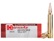 Surplus Ammo .300 Win Magnum 180 Grain SST Hornady SUPERFORMANCE