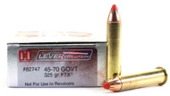 Surplus Ammo .45-70 Government 325 Grain FTX Hornady LEVERevolution