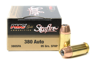 Surplus Ammo, Surplusammo.com 380 Auto 95 Grain StarFire HP PMC Gold