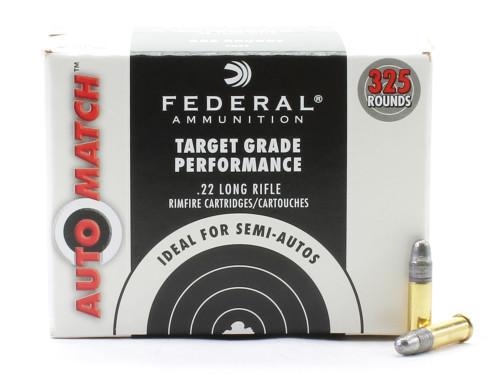 Surplus Ammo | Surplusammo.com Federal Automatch .22LR Rimfire Ammunition Lead Round Nose 22 Long Rifle AM22