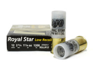 Surplusammo.com | Surplus Ammo 12 Gauge Rio Royal Star Low Recoil Rifled Slug Shotgun Shot Shell Ammunition RSLLR12