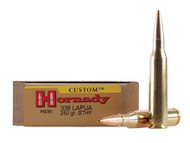 Surplus Ammo .338 Lapua 250 Grain BTHP Hornady Custom