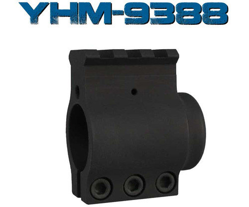 "Surplusammo.com Yankee Hill AR-15 Railed Bull Barrel Gas Block .936""  (YHM-9388)"