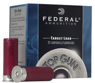 "12 Gauge Federal Top Gun Target 2 3/4"" 1 oz. #7.5 Shot - 250 Rounds"