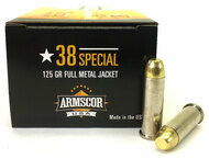 38 Special 125 Grain FMJ Armscor USA AC38-20N