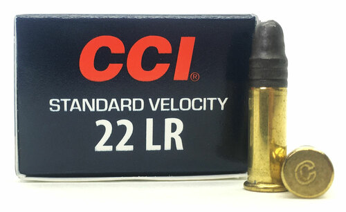 22 LR CCI Standard Velocity Target 40 Grain Lead Round Nose Ammo 0035 - 50 Rounds CC0035