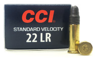 22 LR CCI Standard Velocity Target 40 Grain Lead Round Nose Ammo 0035 - 50 Rounds CC0035