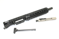 "Surplus Ammo | Surplusammo.com SAA 5.56 10.5"" BHW HBAR 1:7 SS Specter Length Diamond Quad Dragon's Head Complete Pistol Upper Receiver, Blackhole SS Barrel, Partial NB BCG 1510BH8SP12SDQD"