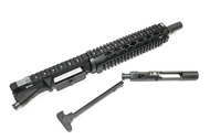 "Surplus Ammo | Surplusammo.com SAA 5.56 10.5"" BHW HBAR 1:7 SS Specter Length YHM Diamond Quad Dragon's Head Complete Pistol Upper Receiver - Blackhole SS Barrel 1510BH8SPL1SDQD"