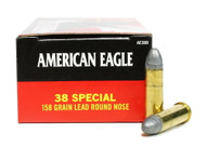 Surplus Ammo, Surplusammo.com 38 Special 158 Grain LRN Federal American Eagle Ammunition