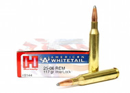 Surplus Ammo, Surplusammo.com .25-06 Rem 117 Grain Interlock Hornady American Whitetail Ammunition