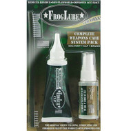 FROGLUBE Clamshell Lubricant Kit - 1 oz FrogLube Solvent, 1.5 oz FrogLube CLP Squeeze Tube, & Brush *CLOSEOUT*