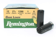 "Surplusammo.com, Surplus Ammo 12 Gauge Remington Game Loads 2 3/4"" #8 Shot RMGL128/20032"