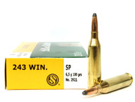 Surplusammo.com | Surplus Ammo .243 Win 100 Grain SP Sellier & Bellot - 20 Rounds SB243A