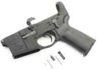 SAA SA-15 Reticle Logo AR15 Assembled Lower with MOE + Pistol Grip and Trigger Guard - No Stock SAA-SA15-MOE-NOSTK