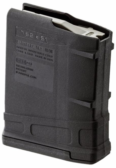 Surplus Ammo | Surplusammo.com Magpul M3 PMAG 10rd LR/SR 308/7.62NATO - Black MAG290-BLK