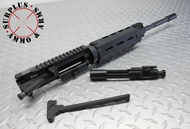"Surplusammo.com SAA MOE KIT 5.56 16"" M4 1:7 Carbine MOE Dragon's Head,  LPK, MOE Collapsing Stock, Pistol Grip, Trigger Guard, Rifle Kit Less Lower Receiver (1516SM7CC21MCCDKIT) Black"