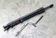 "SAA 16""-18"" 5.56 NATO Rifle Length Free Float Slanted Complete Upper Receiver - CUSTOMIZABLE"