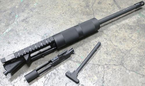 """SAA Billet 300BLK 16"""" 1:7 Nitride Carbine Length FF Tube Complete PLGS Upper Receiver SAAURG051"""