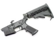 "Surplusammo.com | Surplus Ammo SAA - SA-15 ""O.A.F."" AR15 Complete Lower with M4 Collapsing Stock SAA-SA15OAF-CS"