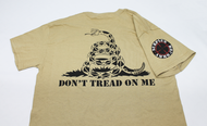 "SAA ""Don't Tread On Me"" Graphic T-Shirt - Tan"
