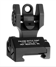 Troy Industries Rear Folding Battle Sight - Black