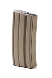 Ammunition Storage Components (ASC) AR-15 223/556 20 Round Aluminum Magazine  - FDE
