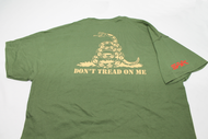 "SAA ""Don't Tread On Me"" Graphic T-Shirt - Green"
