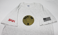"SAA ""08 Head Stamp"" Graphic T-Shirt - Ash"