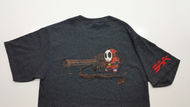Super Mario parody Shy Guy with a mini gun Artist Caylee Huckabay Surplus Ammo