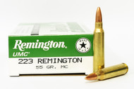 Surplus Ammo, Surplusammo.com .223 55 Grain MC Remington UMC L223R3
