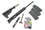 "Surplusammo.com 300BLK 16"" HBAR 1:8 Billet Carbine Length Free Float Tube Upper Receiver  (4316SH8CC11CFTAKIT)"