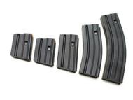 Surplusammo.com | Surplus Ammo Ammunition Storage Components (ASC) AR-15 .223/5.56 & 300AAC STAINLESS STEEL Magazines - Black 5, 10, 20, 30, 40 Round 223-SS-BM-O-ASC